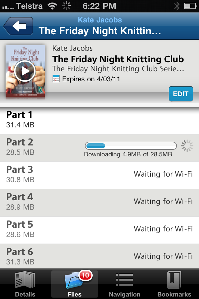 The Friday Night Knitting Club Book